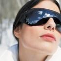 Темные очки зимой