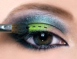макияж для кареглазых