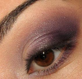 вечерний макияж для кареглазых
