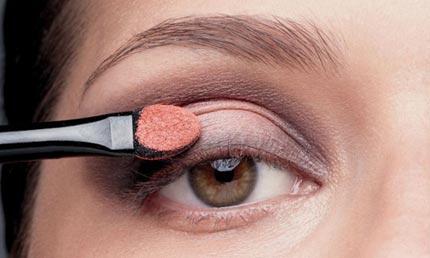 макияж для брюнетки