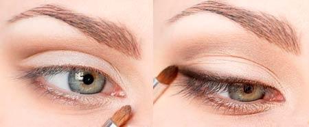 как увеличить форму глаз