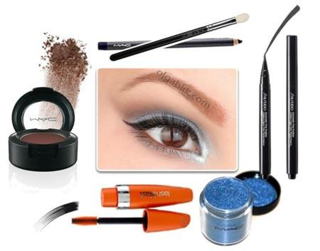 макияж для юрюнетки