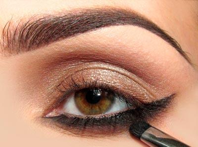 макияж для кареглазой