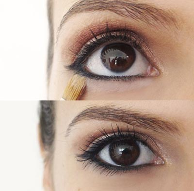 рисуем стрелки на глазах