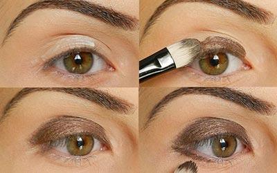 фото урок макияжа