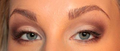 как увеличить глазки макияжем