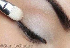 макияж бежевыми тенями