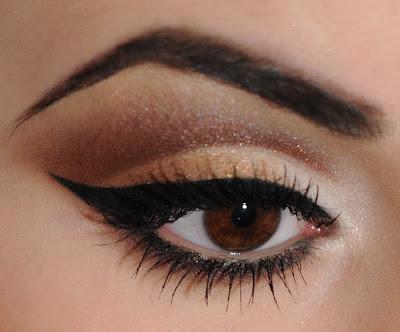профессиональный макияж глаз