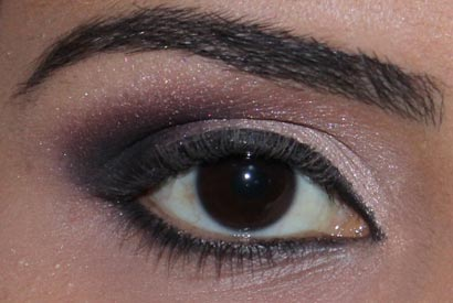 бежевый макияж глаз
