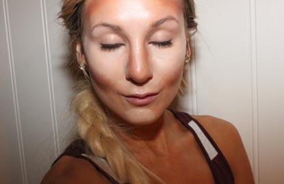 высветление лица
