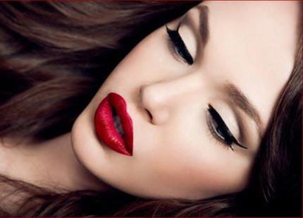 макияж под черное платье