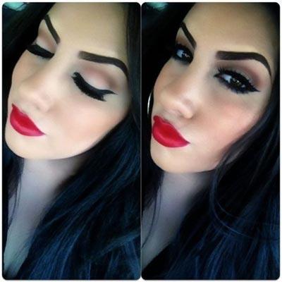 макияж пин-ап