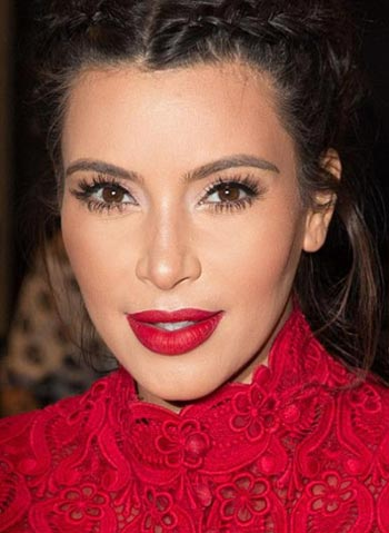 макияж Ким Кардашян