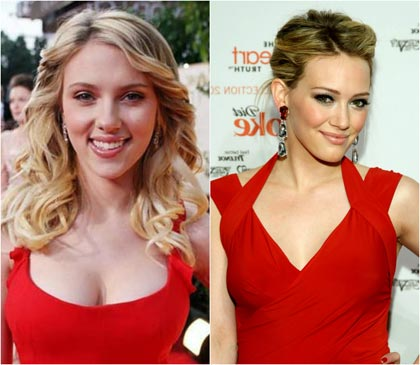 макияж под красное платье