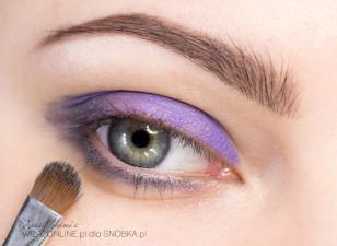 фиолетовый макияж